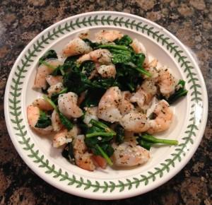 2-Minute Shrimp Scampi