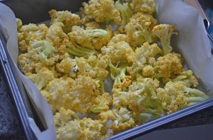 Roasted Coriander Cauliflower