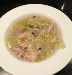 Spring Fresh Chicken Soup
