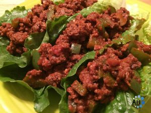 Sloppy Joe Lettuce Cups