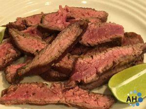Cilantro-Lime Steak