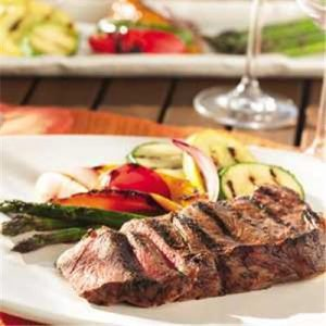 Tangy Grilled Steaks