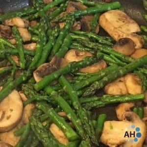 Asparagus & Mushrooms