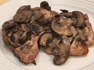 Pork Chops with Mushrooms and Shallots