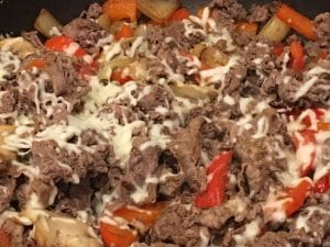 Philly Cheesesteak in a Bowl